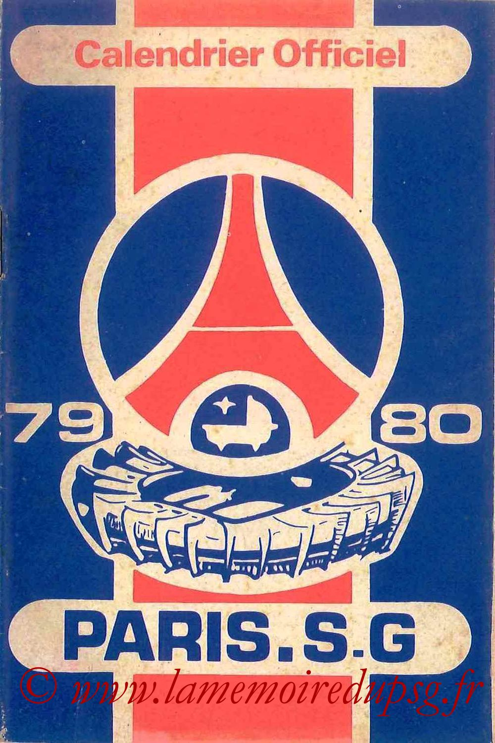 1979-80 - Guide de la Saison PSG