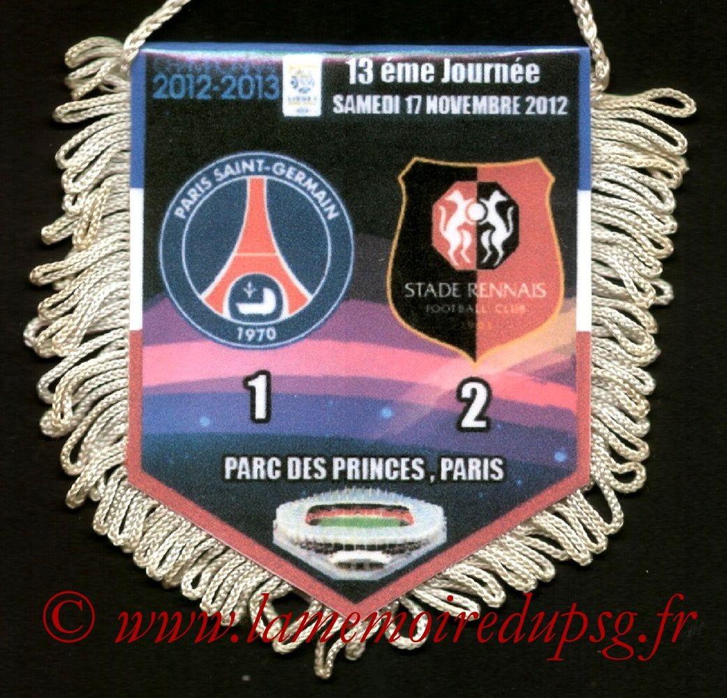 2012-11-17  PSG-Rennes (13ème L1)