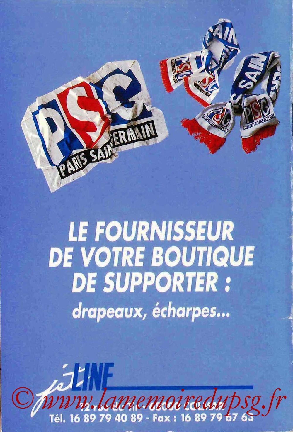 1993-94 - Guide de la Saison PSG - Page 36
