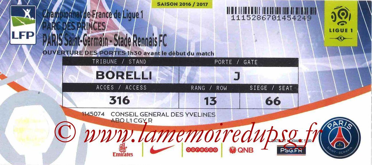 2016-11-06  PSG-Rennes (12ème L1)bis
