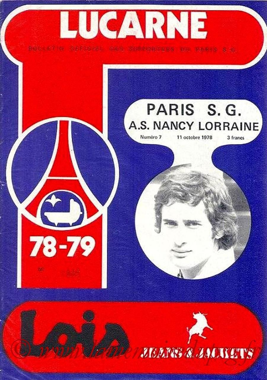 1978-10-11  PSG-Nancy (14ème D1, Lucarne N°7)