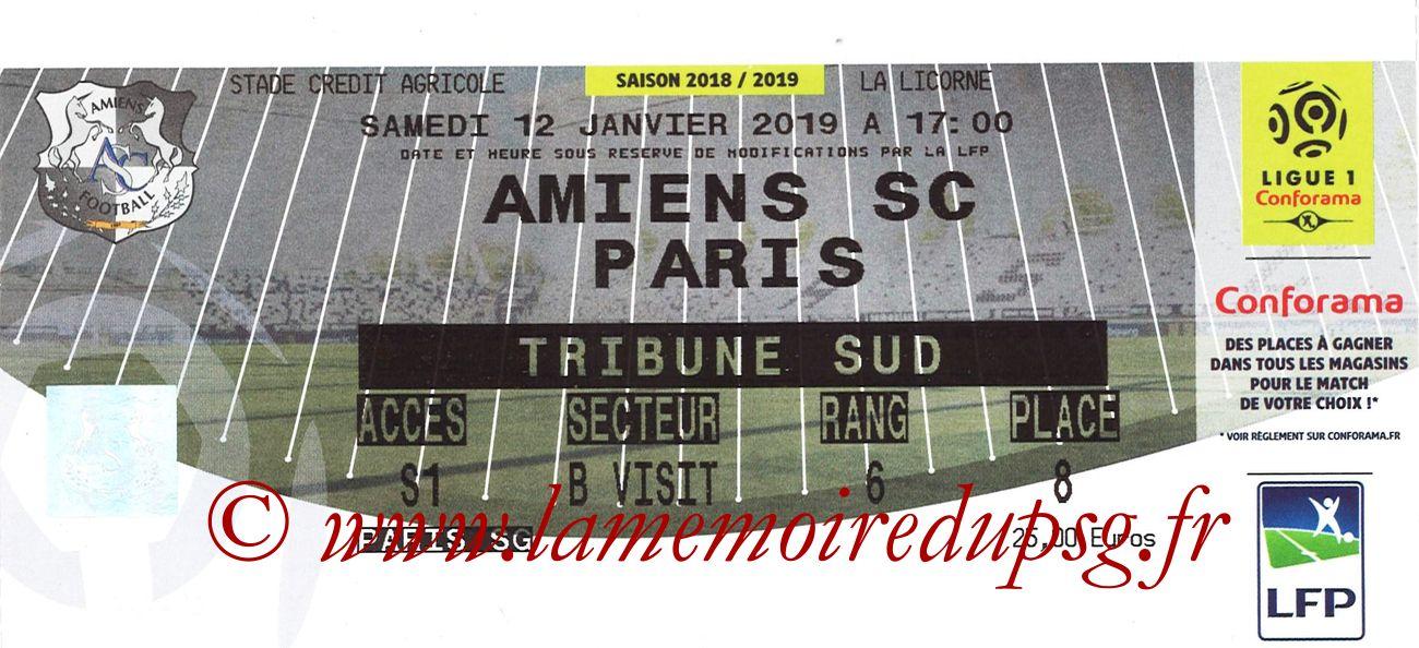 2019-01-12  Amiens-PSG (20ème L1)