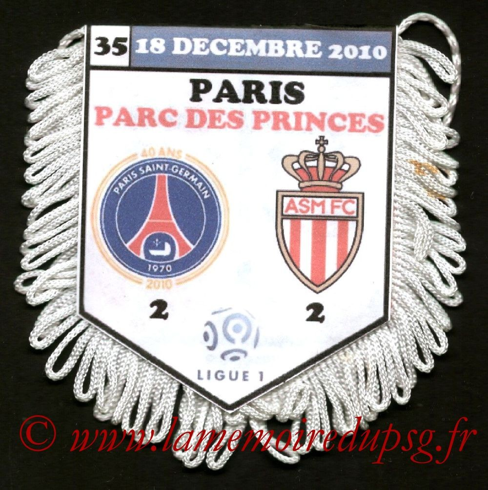 2010-12-18  PSG-Monaco (18ème L1)