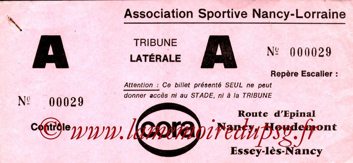 1983-01-15  Nancy-PSG (21ème D1, Sans Nom)