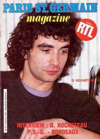 1985-02-19  PSG-Bordeaux (25ème D1, Paris SG Magazine N°14)