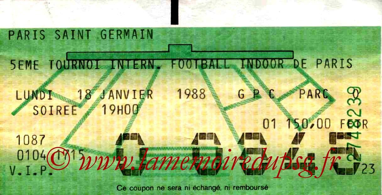 1988-01-18  PSG-Auxerre et PSG-Cologne (5ème Foot indoor à Bercy, 1ère journée)bis