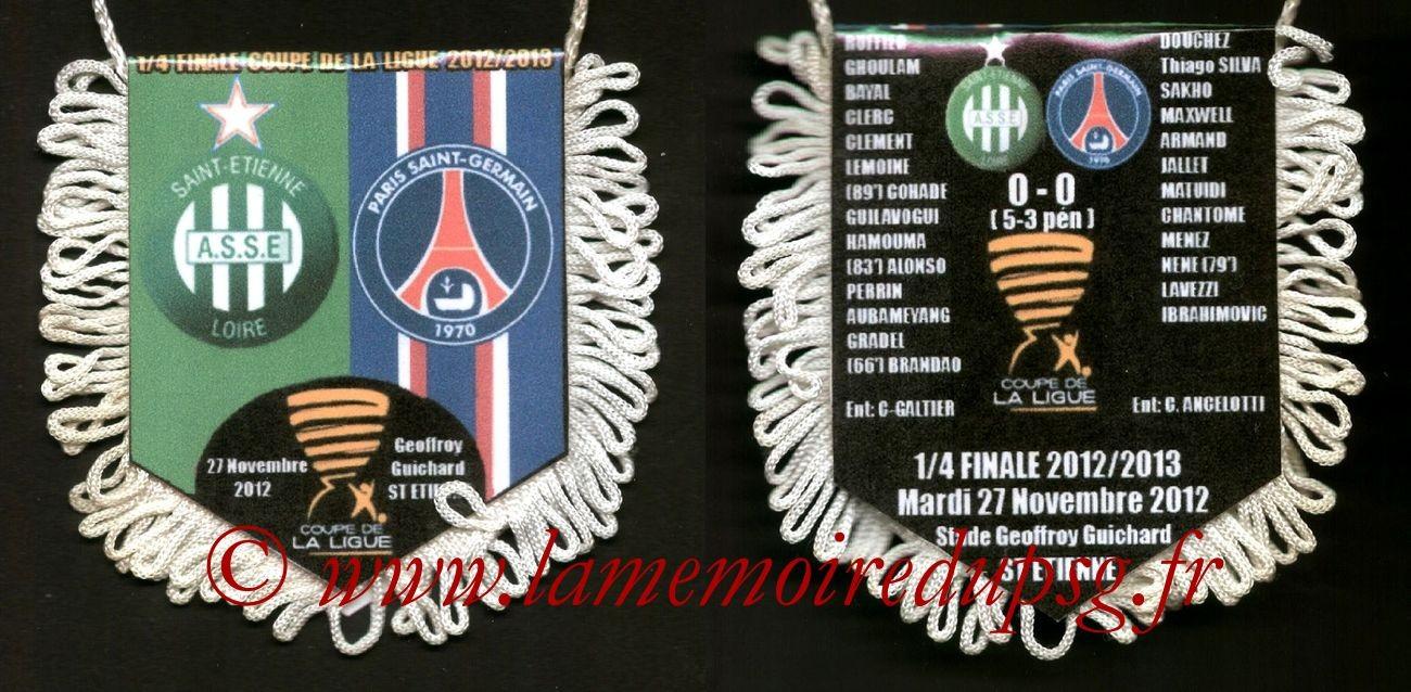 2012-11-27  Saint Etienne-PSG (Quart Finale CL)
