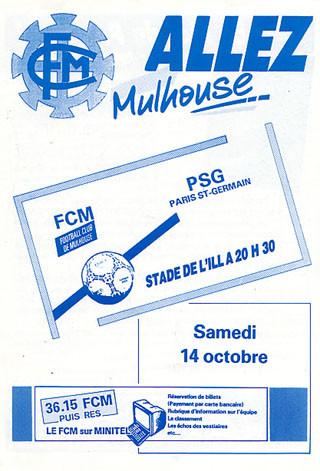 1989-10-14  Mulhouse-PSG (14ème D1, Allez Mulhouse)