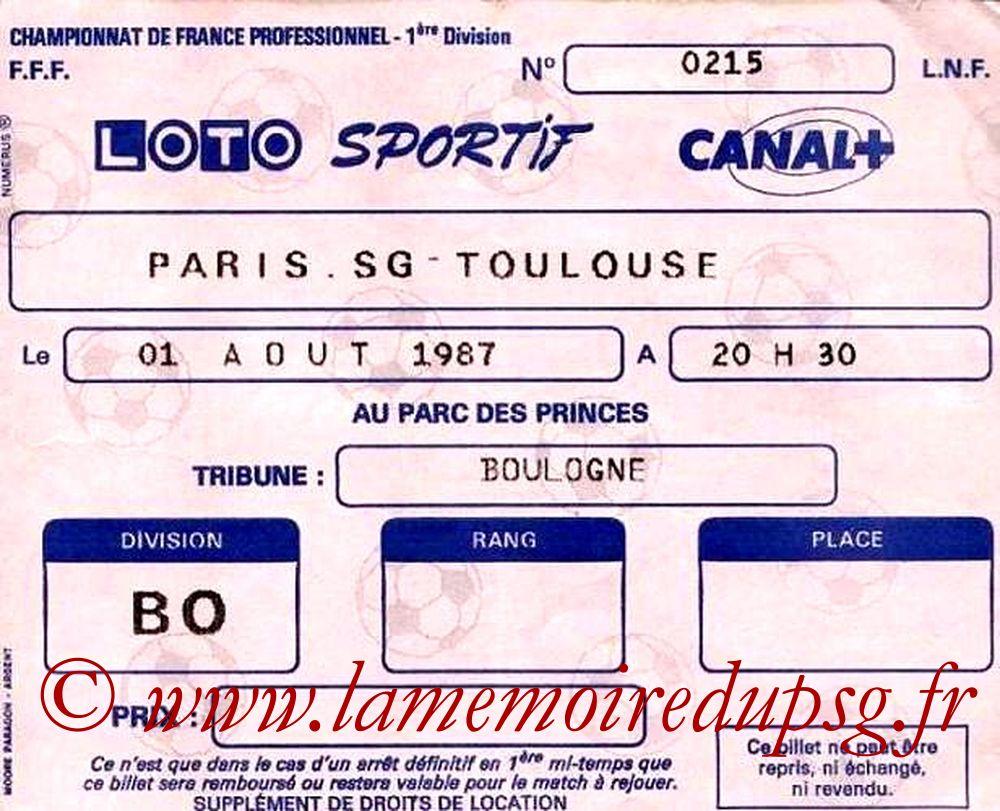 1987-08-01  PSG-Toulouse (3ème D1)