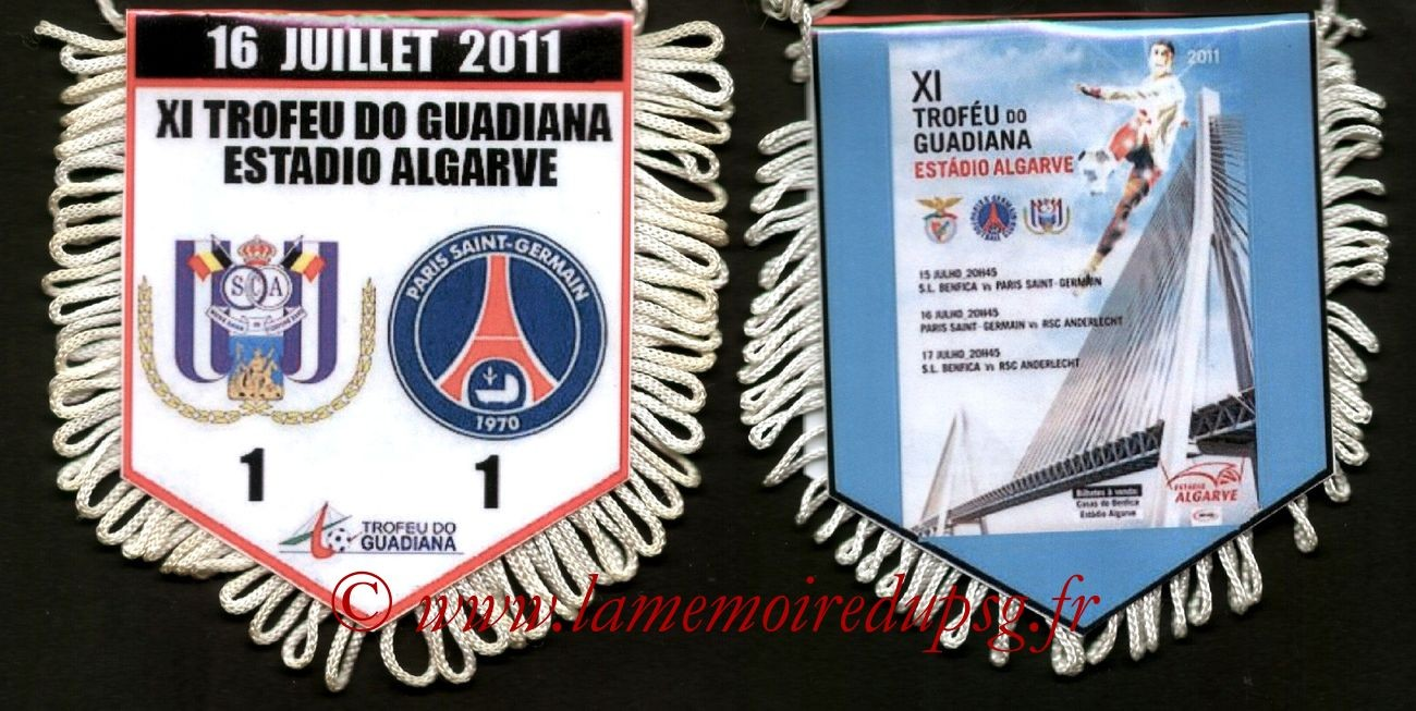 2011-07-16  Anderlecht-PSG (Amical)