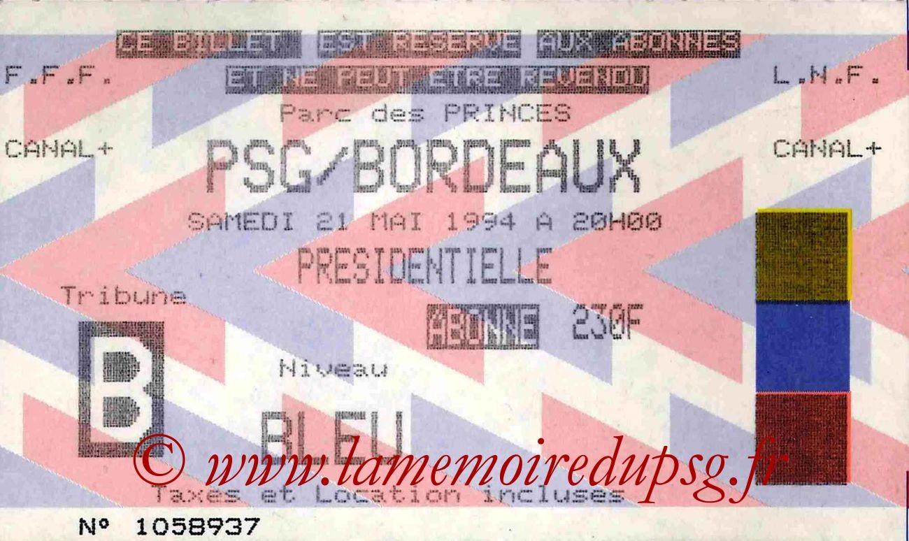 1994-05-21  PSG-Bordeaux (38ème D1)