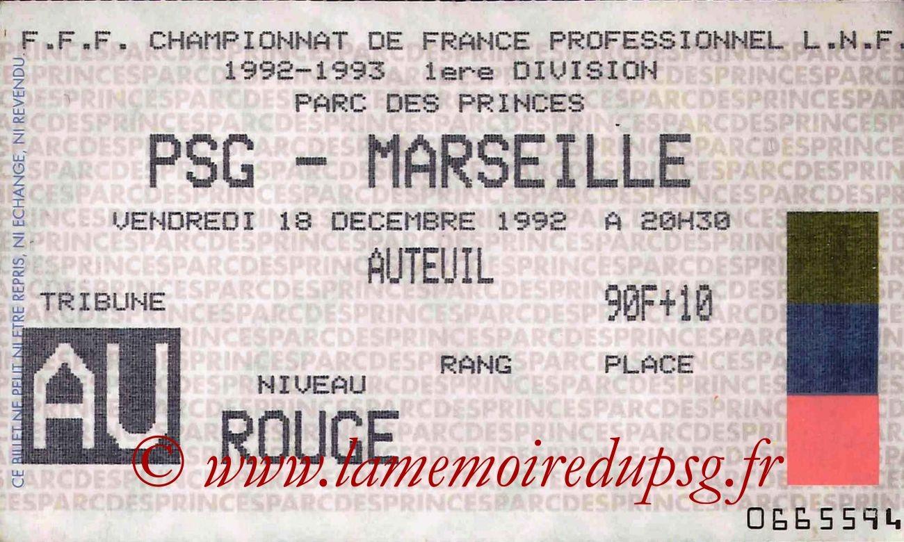 1992-12-18  PSG-Marseille (19ème D1)