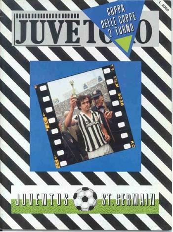 1983-11-02  Juventus-PSG (8ème Finale Retour C2, Officiel)