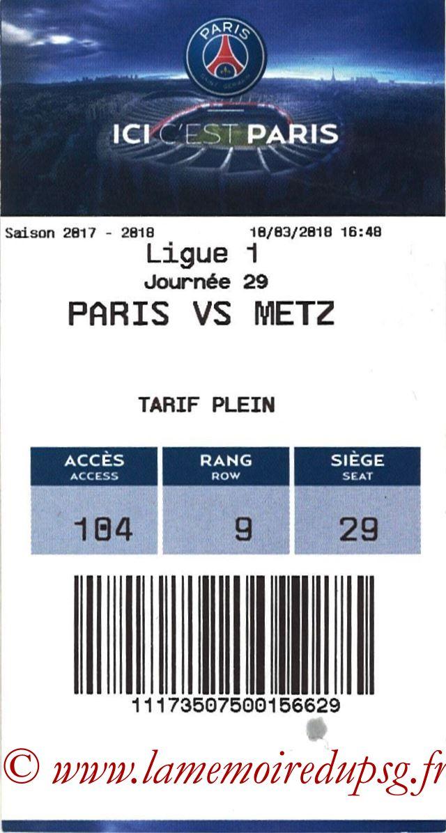 2018-03-10  PSG-Metz (29ème L1, E-ticket)