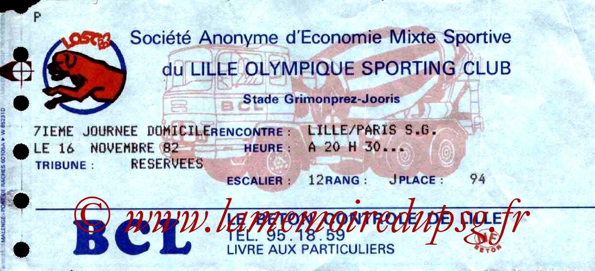 1982-11-16  Lille-PSG (15ème D1)