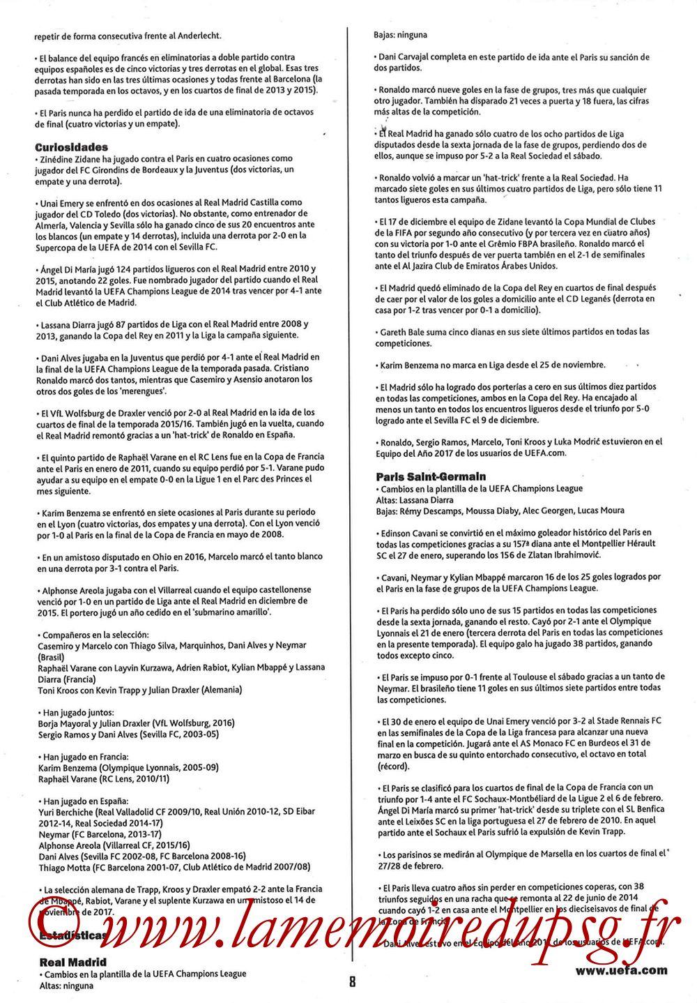 2018-02-14  Real Madrid-PSG (8ème C1 aller, Programme pirate) - Page 08
