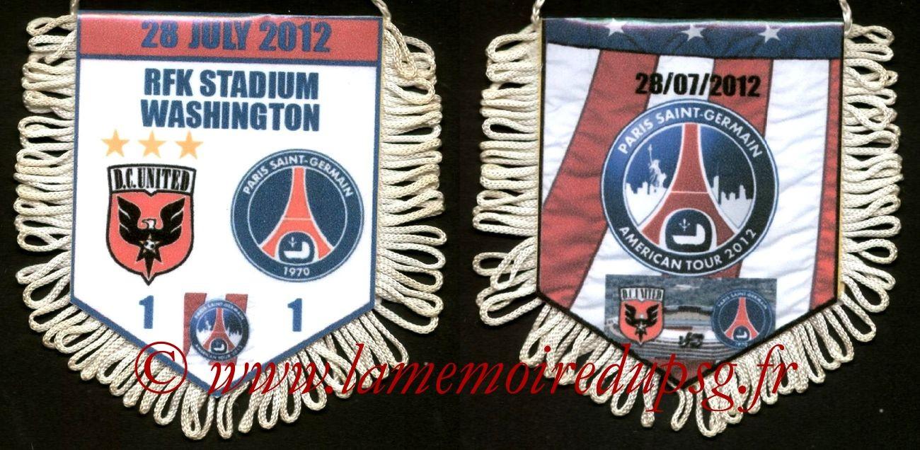 2012-07-28  D.C. United-PSG (Amical à Washington)