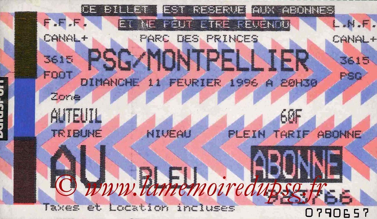 1996-02-11  PSG-Montpellier (27ème D1)