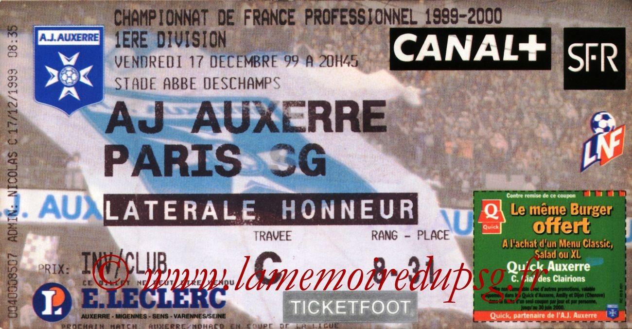 1999-12-17  Auxerre-PSG (20ème D1)