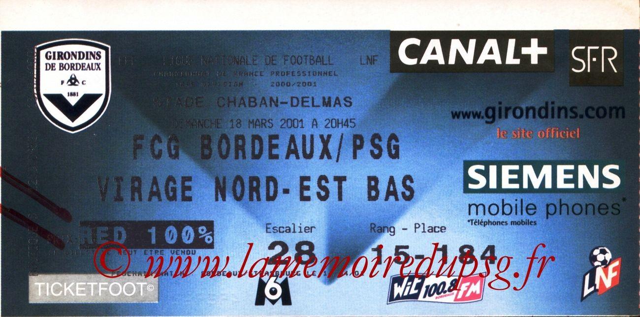 2001-03-18  Bordeaux-PSG (29ème D1)