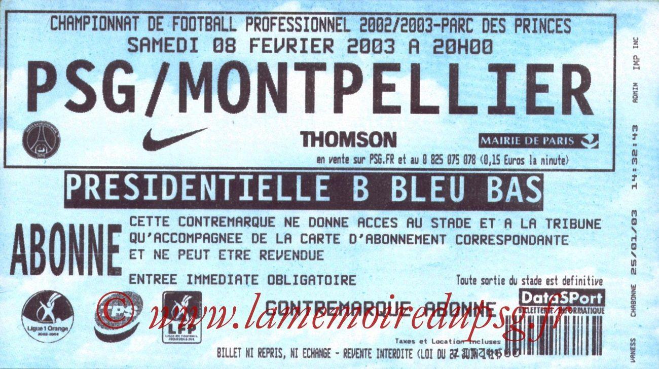 2003-02-08  PSG-Montpellier (27ème L1)
