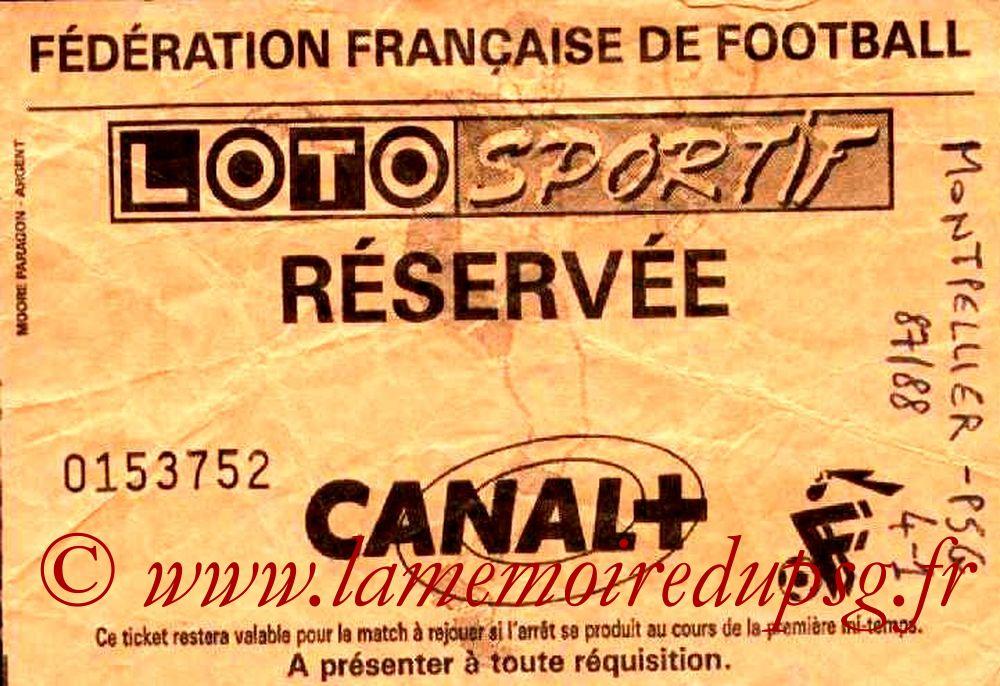 1987-07-25  Montpellier-PSG (2ème D1)