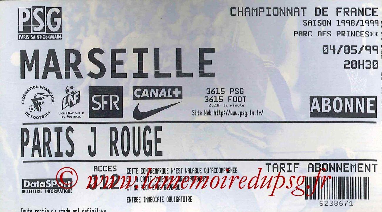 1999-05-04  PSG-Marseille (32ème D1)