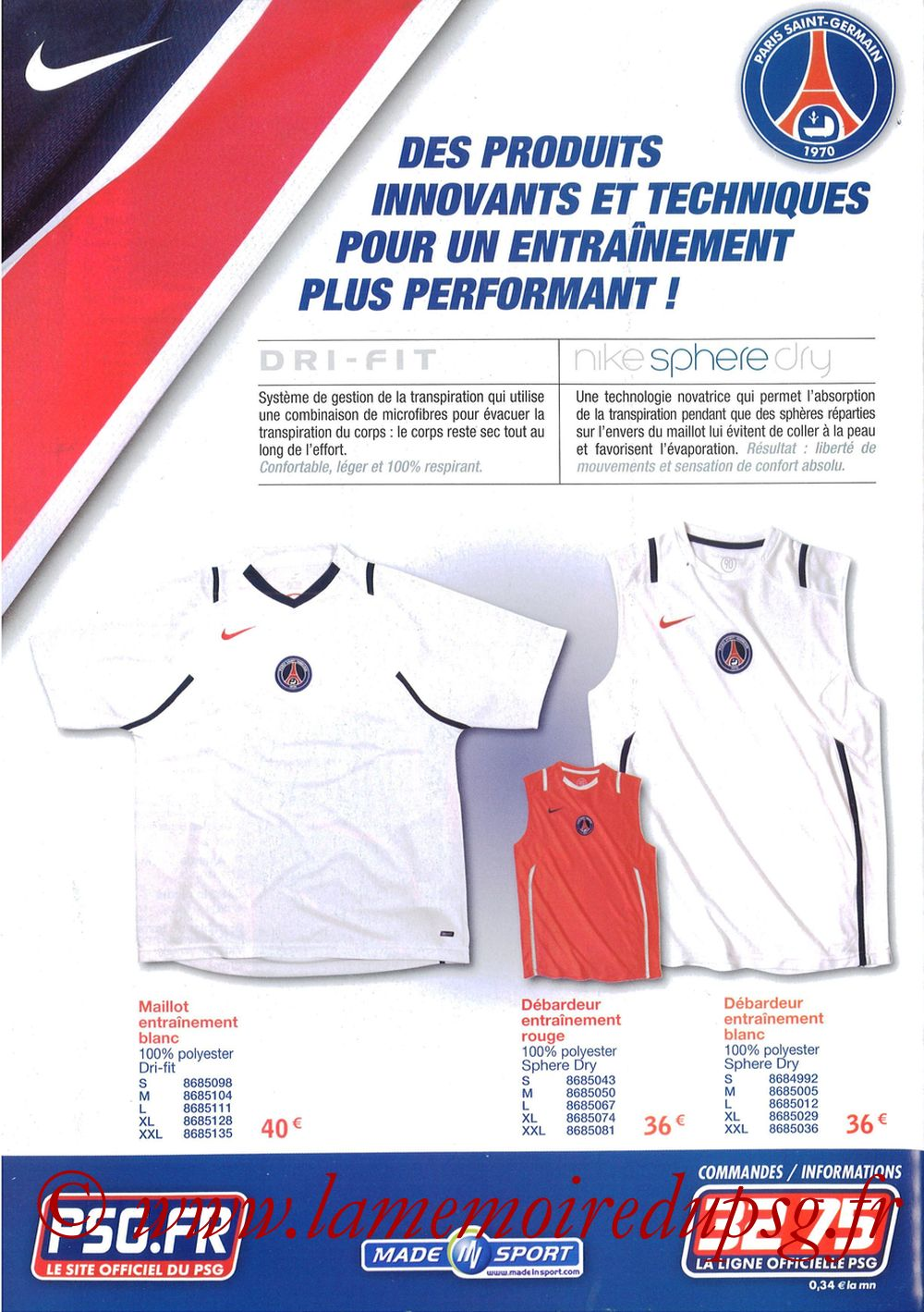 Catalogue PSG - 2006-07b - Page 08