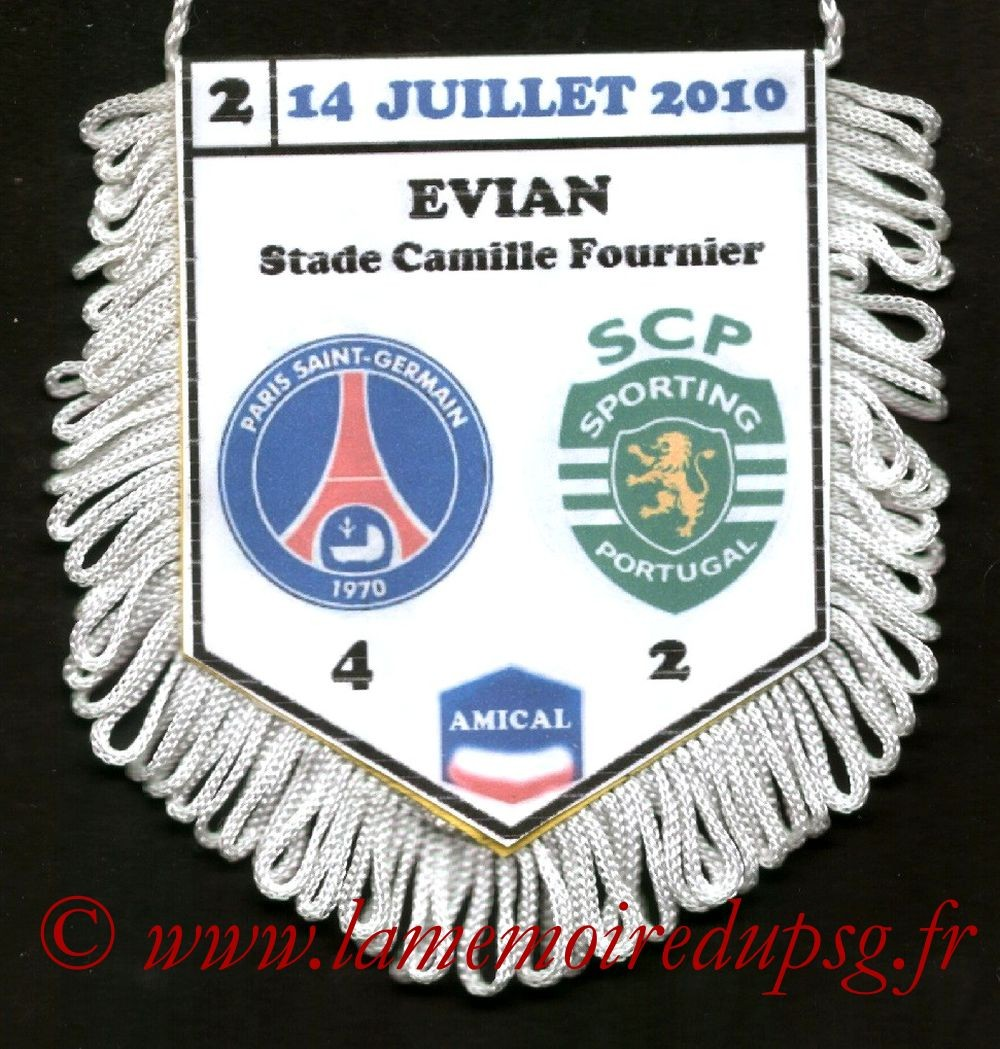 2010-07-14  PSG-Sporting Lisbonne (Amical à Saint-Dolay)