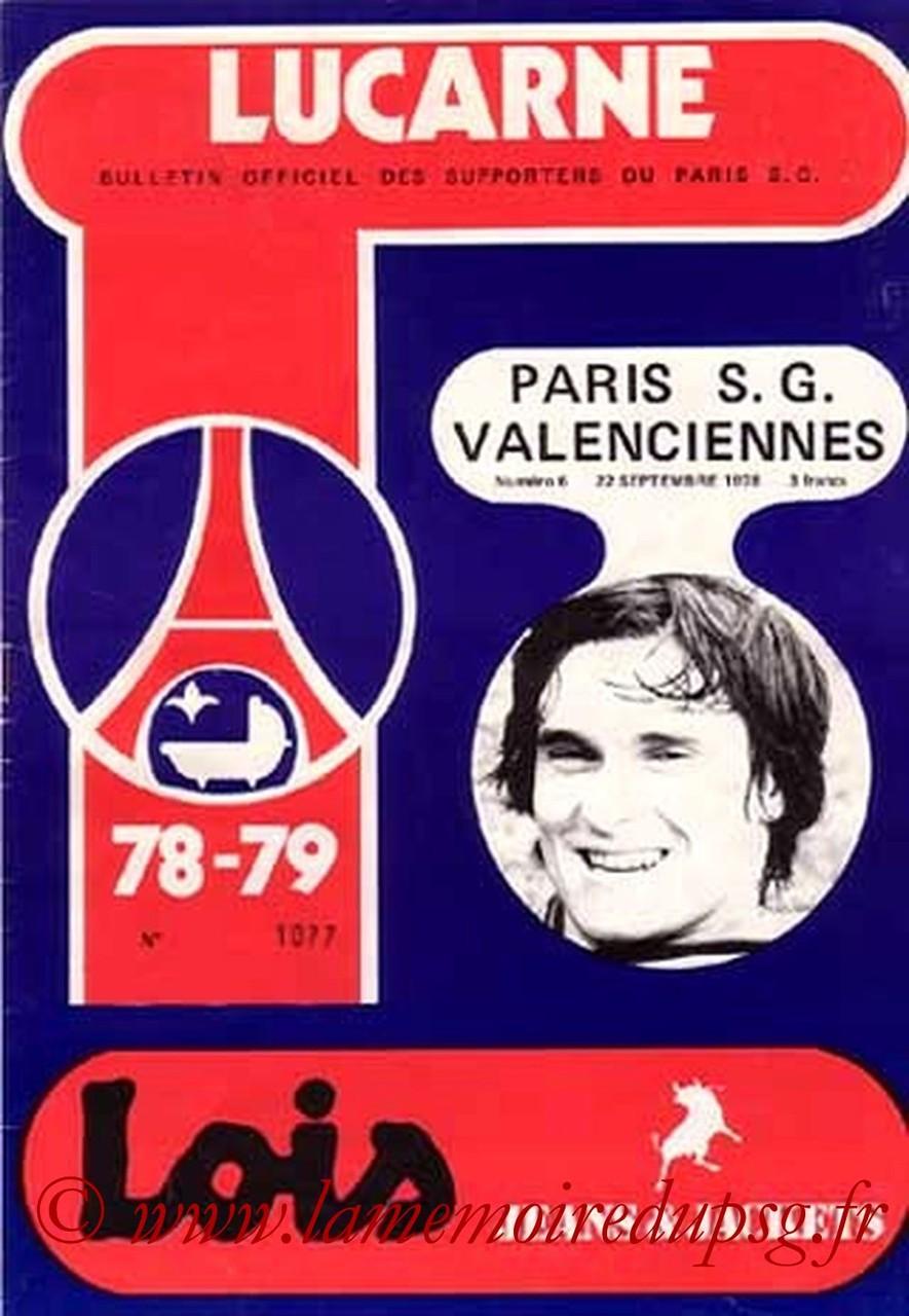 1978-09-22  PSG-Valenciennes (12ème D1, Lucarne N°6)
