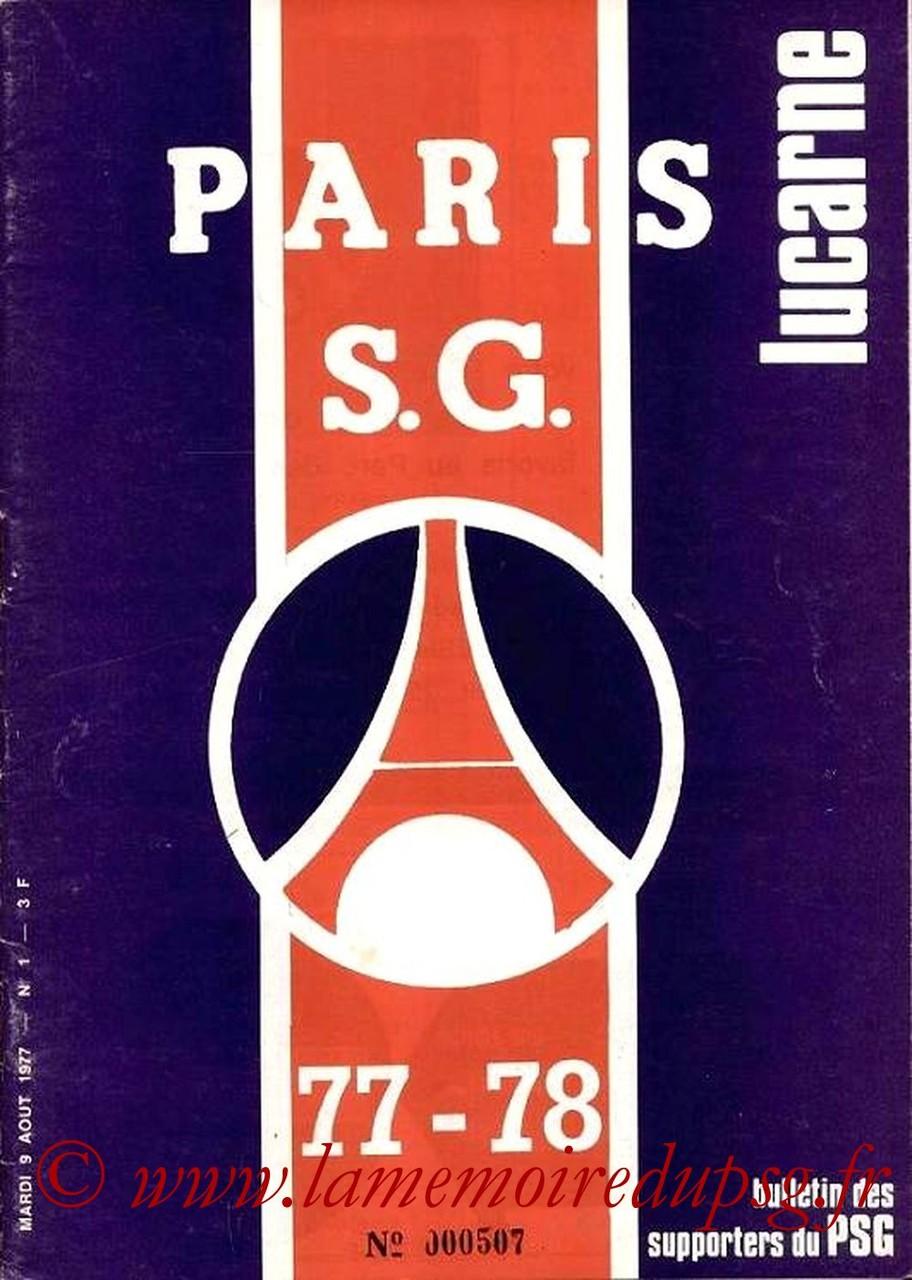 1977-08-09  PSG-Reims (2ème D1, Lucarne N°1)