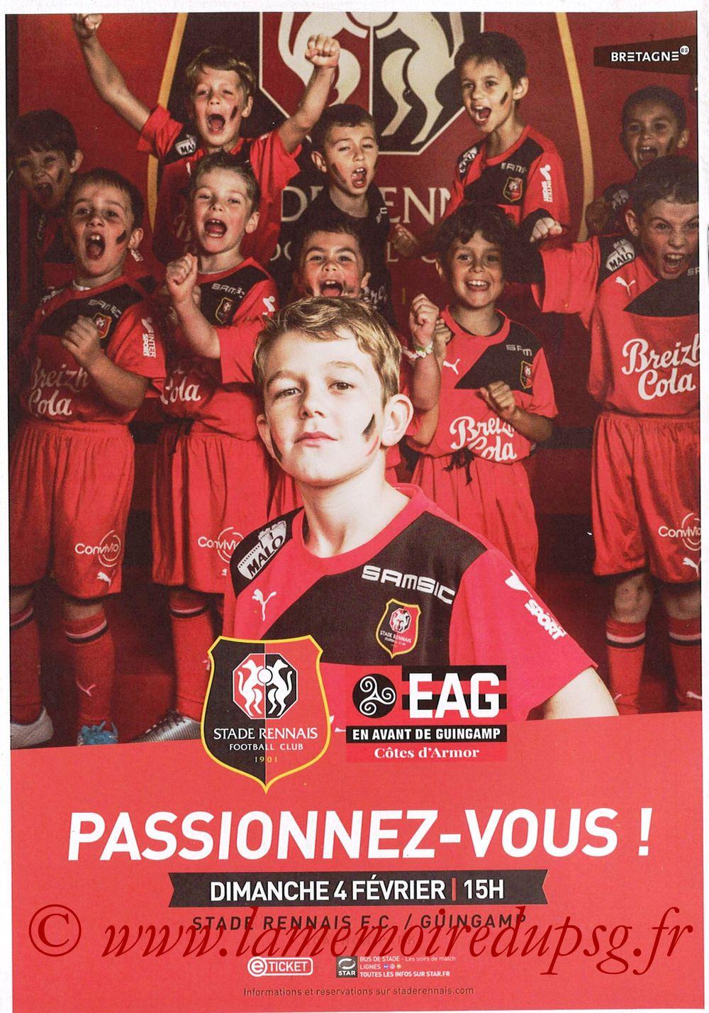 2018-01-30  Rennes-PSG (Demi CL, Programme Officiel) - Pages 08