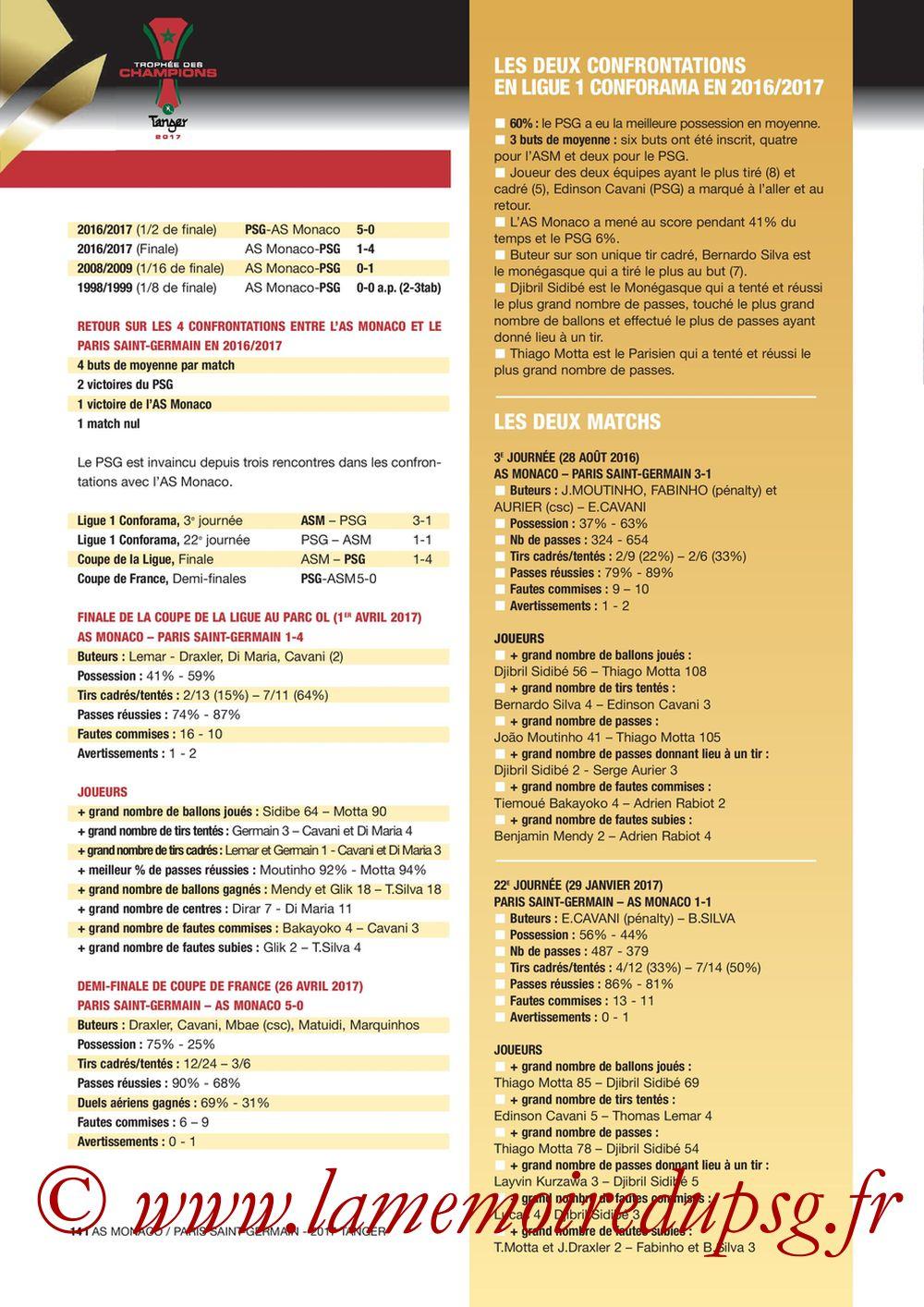 2017-07-29  Monaco-PSG (Trophée des Champions à Tanger, Dossier de Presse) - Page 14