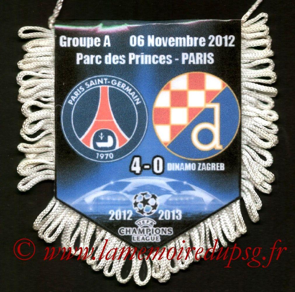 2012-11-06  PSG-Dinamo Zagreb (4ème Poule C1)