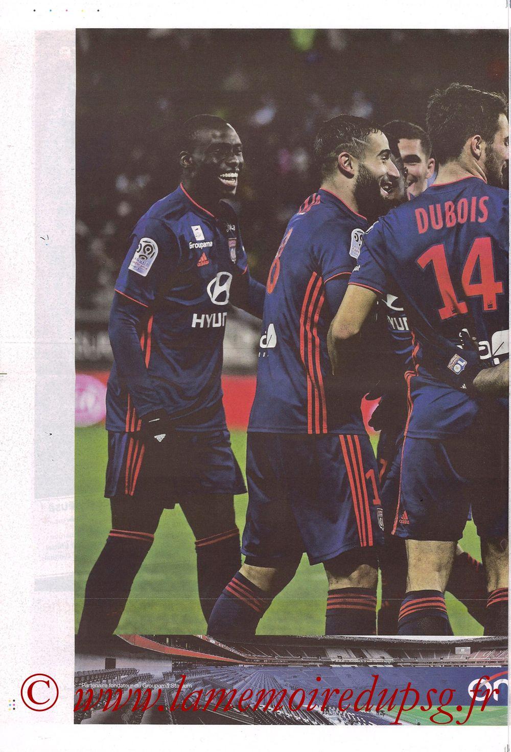 2019-02-03  Lyon-PSG (23ème L1, La Tribune OL N°270) - Page 10