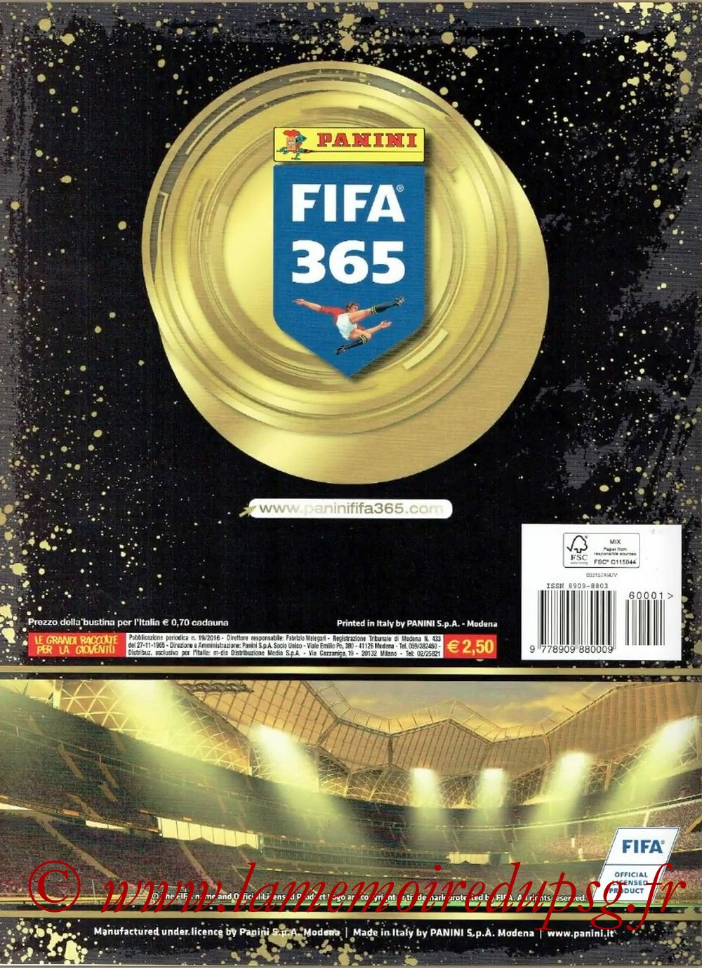 2016-17 - Panini FIFA 365 Stickers - Pages 66 - Dos Album