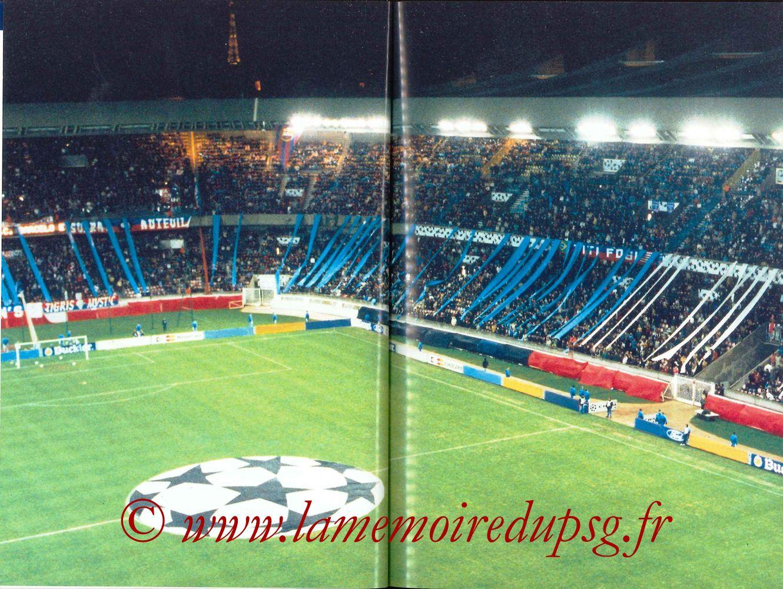 2000-01 - Guide de la Saison PSG - Pages 32 et 33