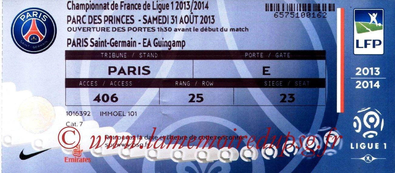 2013-08-31  PSG-Guingamp (4ème L1)