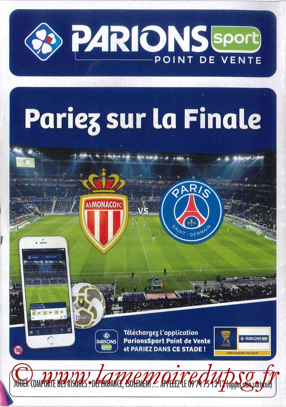 2017-04-01  Monaco-PSG (Finale CL à Lyon, Programme officiel) - Page 16