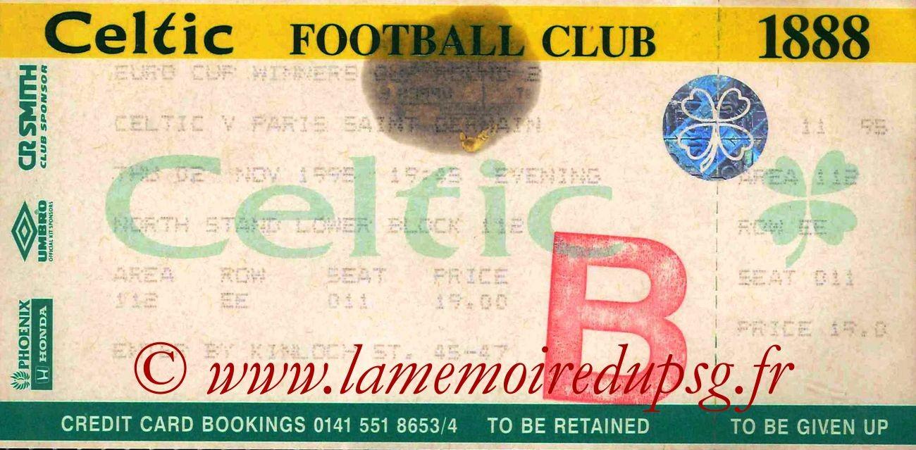 1995-11-02  Celtic-PSG (8ème Finale Retour C2)