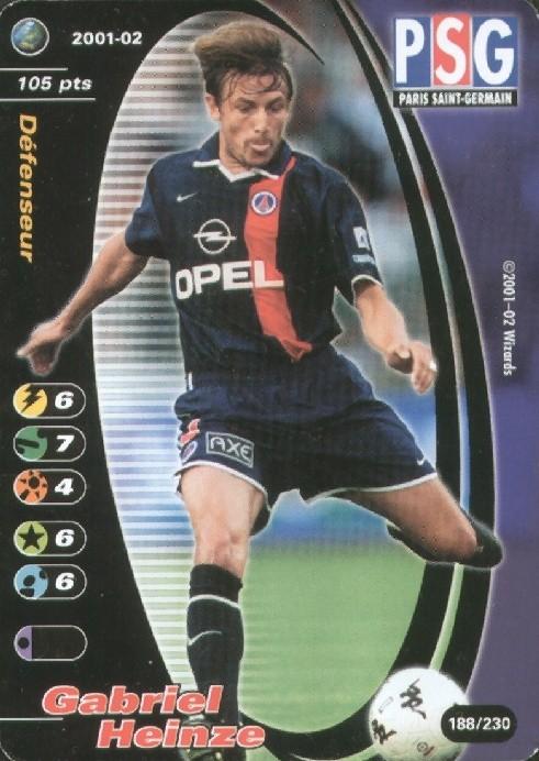 N° 188 - Gabriel HEINZE