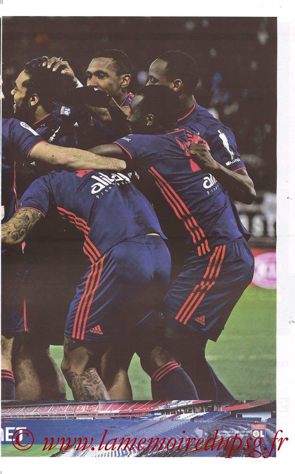 2019-02-03  Lyon-PSG (23ème L1, La Tribune OL N°270) - Page 11