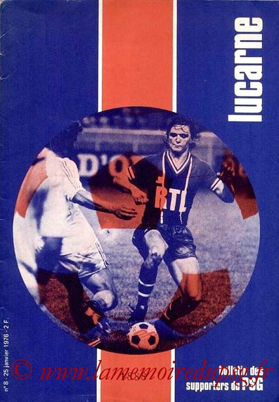 1976-01-25  PSG-Lens (22ème D1, Lucarne N°8)