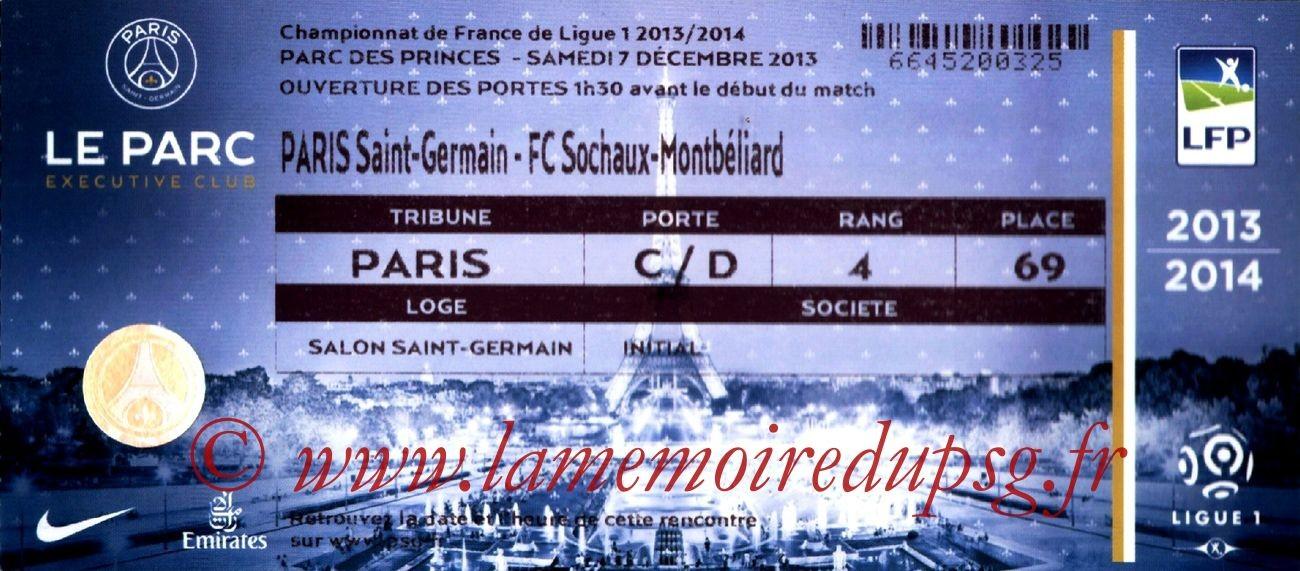 2013-12-07  PSG-Sochaux (17ème L1, Loge)