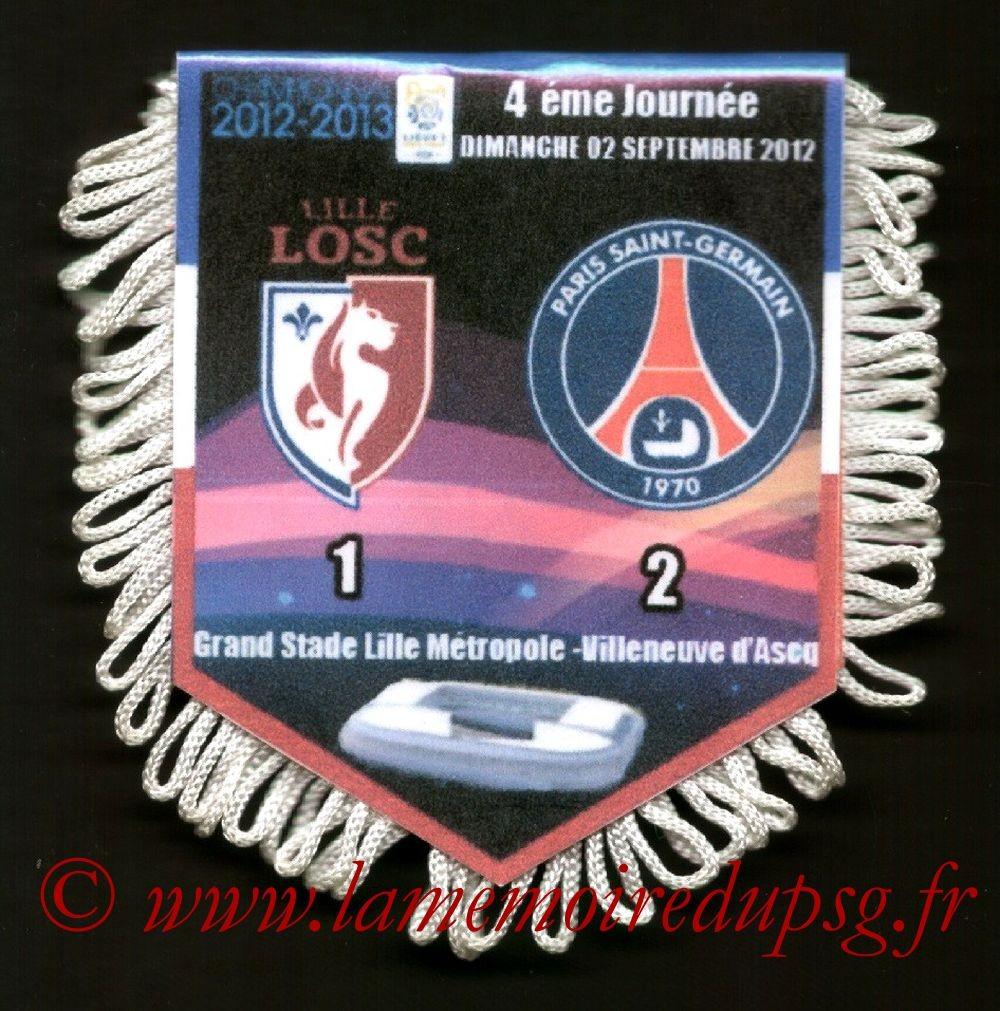 2012-09-02  Lille-PSG (4ème L1)