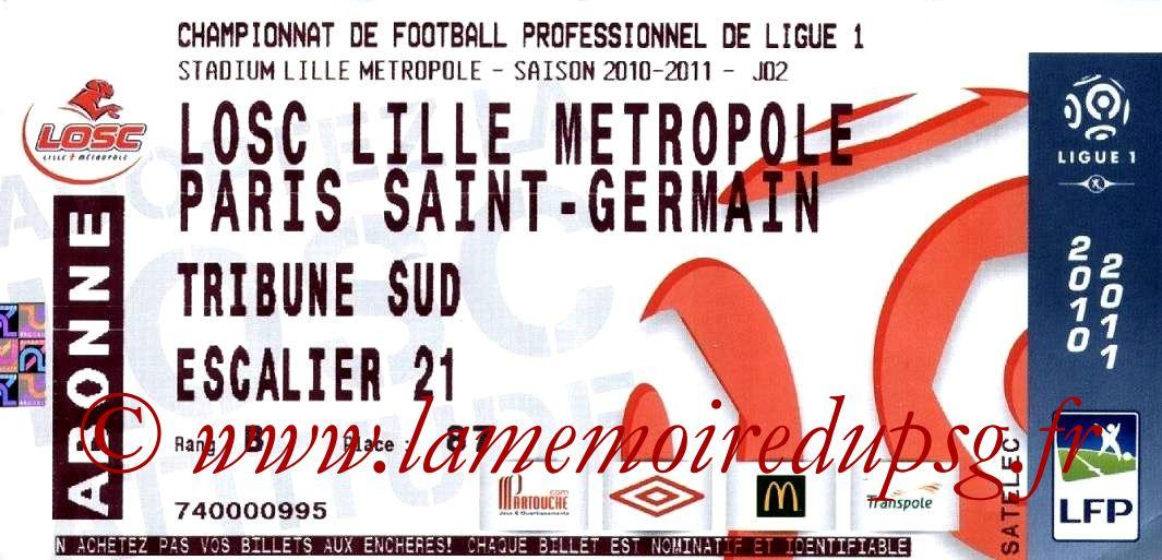 2010-08-15  Lille-PSG (2ème L1)