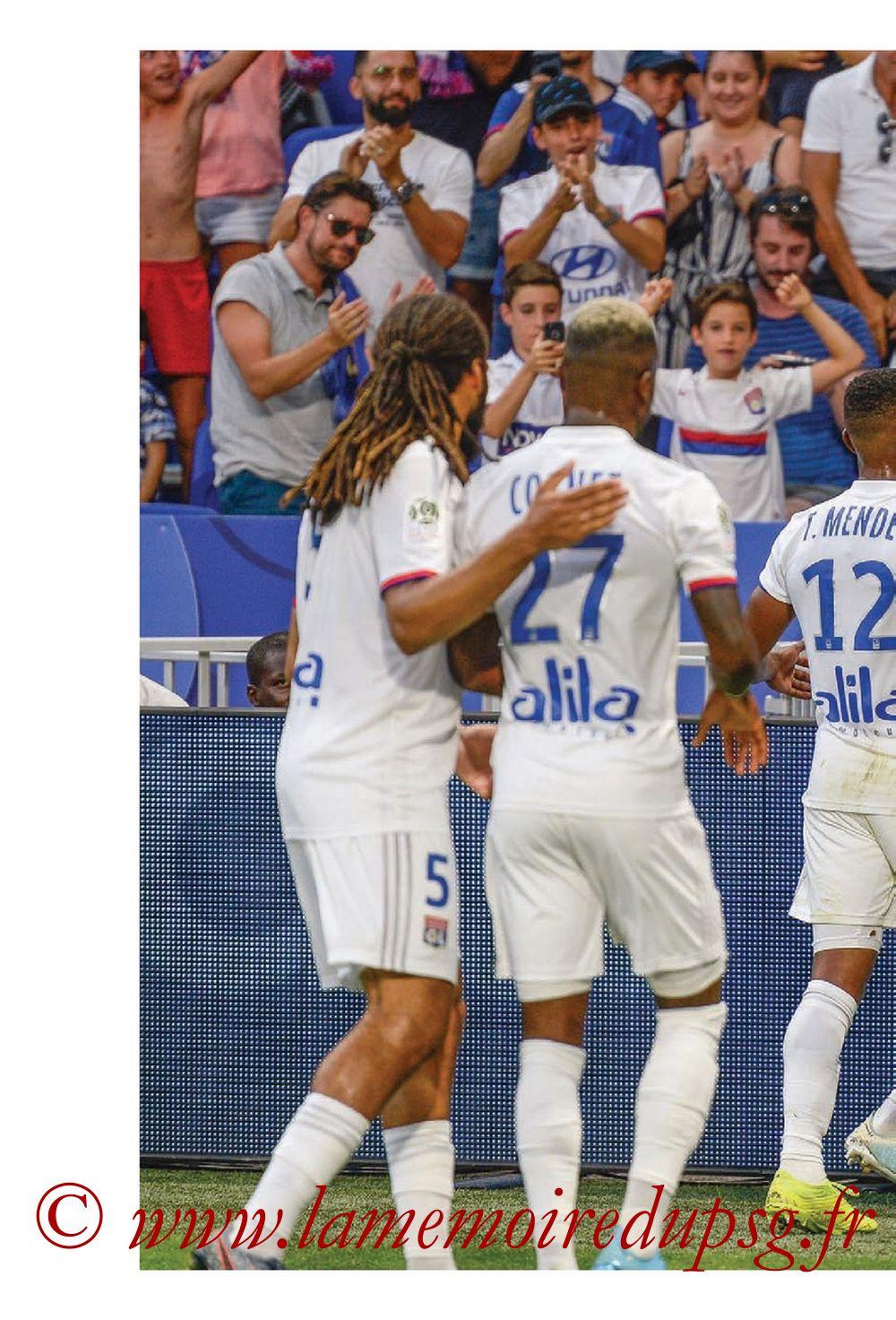 2019-09-22  Lyon-PSG (6ème L1, Tribune OL N°284) - Page 10