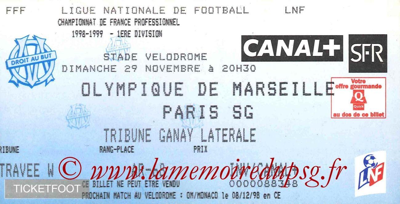 1998-11-29  Marseille-PSG (16ème D1)