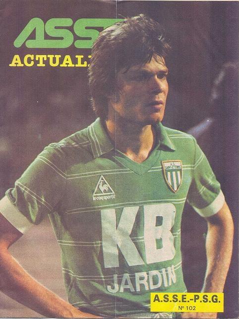 1982-08-27  Saint Etienne-PSG (4ème D1, ASSE Actualités N°102)
