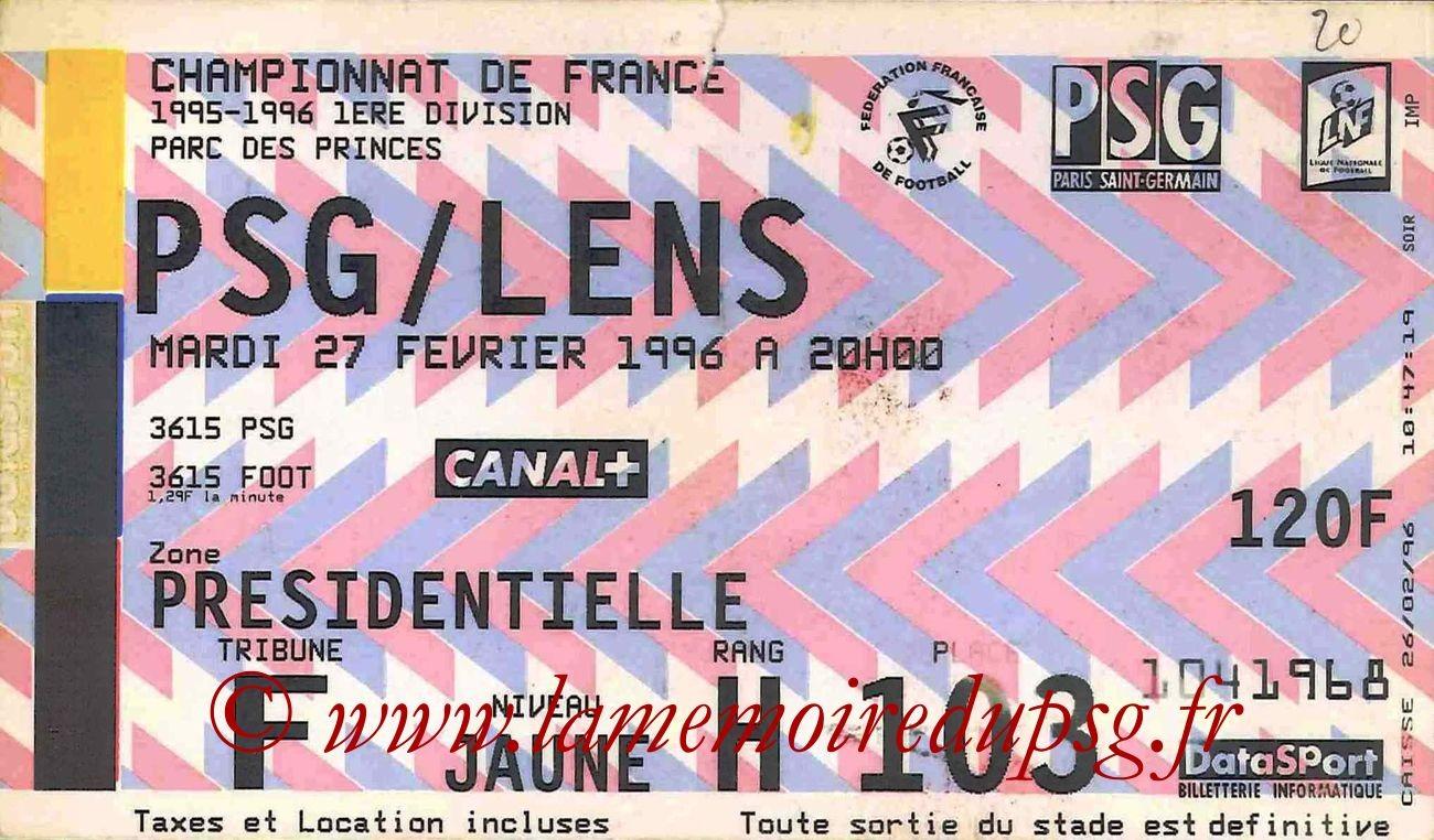 1996-02-27  PSG-Lens (29ème)